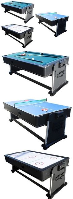 Other Indoor Games 36278: 3 In 1 Rotating Combination Multi Game Table ~  Pool ~