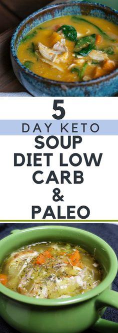 5 Day Keto Soup Diet – Low Carb & Paleo!
