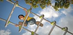 Mom talks about letting her kids take risks in the playground.