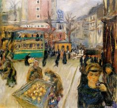 Montmartre (also known as View of Paris), 1905 by Pierre Bonnard (French 1867-1947)