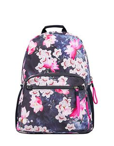 Emblazoned with a beautiful lotus flower print, our backpack from the Spirit of Accessorize collection is just right for carrying all your essentials. With a...
