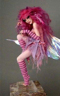Cheshire cat fairy