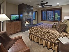 Mammoth ski property in the mountains of Steamboat Springs