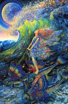 sleepypsychedelia:    Josephine Wall