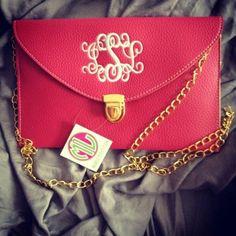 Monogrammed purse!