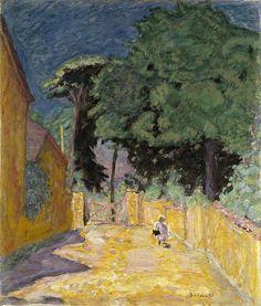 Bonnard, Pierre, (2867-1947), Ruelle à Vernonnet, 1914, Oil