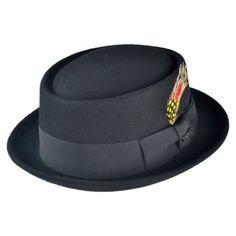 Wool Felt Pork Pie Hat alternate view 17 Jaxon Hats 24a403a67a4d