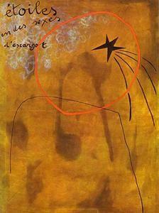 Stars in sexes des escargots - (Joan Miro)