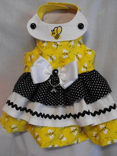Bumble Bee dress by dressmeupscottie on Etsy