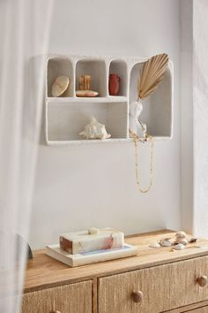 Isobel Concrete Wall Shelf - White ALL at Urban Outfitters Urban Outfitters, Room Divider Screen, 6 Drawer Dresser, Apartment Furniture, Apartment Living, Living Rooms, Concrete Wall, Concrete Projects, Wood Wall