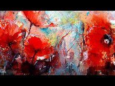 Watercolor demo flamingo verkorte versie - YouTube