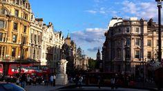 トラファルガー広場から見たロンドンビッグベン  Big Ben from Trafalgar Square