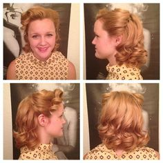 image050 Vintage Hair Tutorial: Victory Rolls with Cascading Curl