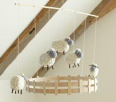 Sweet Lambie Decor Mobile | Pottery Barn Kids