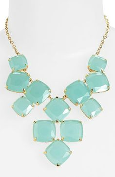 christmas gift ideas for her - kate spade new york 'shaken & stirred' bib necklace available at #Nordstrom