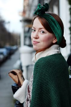 American Apparel Headscarf - always a good idea!