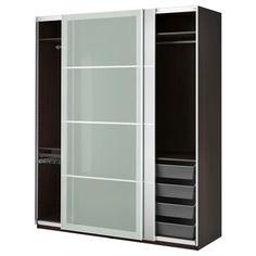 PAX Wardrobe - soft closing damper - IKEA Yup, extra clothes storage... $975