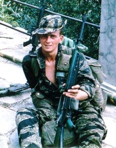 LRRP McMahon G Co. (Ranger) 75th Infantry, ready for patrol.