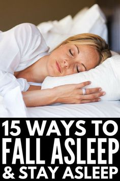 How to Fall Asleep Quickly: 15 Tips to Banish Insomnia & Feel Rejuvenated – The Best DIY How To Fall Asleep Quickly, Ways To Fall Asleep, Ginger Benefits, Health Benefits, Health Tips, Lose Weight, Weight Loss, Stress And Anxiety, Health Problems