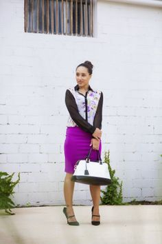 Diary of a Southern Shopper: Workweek Purple