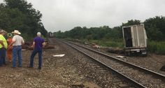 Amtrak train strikes cattle truck in rural Lyon Co.