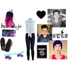 """""""Kian lawley inspired"""" by lolloveyou66 on Polyvore"""