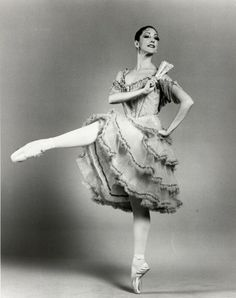 Cynthia Harvey as Kitri in Don Quixote. Photo by Martha Swope, via CriticalDance.org