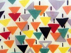 Sonia Delaunay-the design is so naive and yet cute for skirts or pants