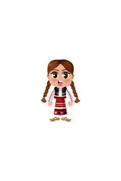 Romanian Girl Vector Image #people #world http://www.vectorvice.com/people-world-vector