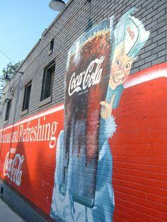 Coca Cola wall -