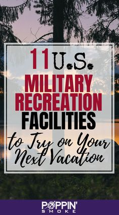 11 U. Military Recreation Facilities to Try on Your Next Vacation These military recreation facilities are a great way to stretch your budget while enjoying every outdoor recreation activity under the sun! Military Spouse, Military Life, Military Hops, Military Wedding, Military Campgrounds, Rv Campgrounds, Travel Trailer Camping, Camping Tips, Rv Tips