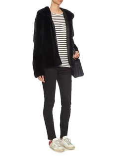 Katie hooded mink-fur jacket | Lilly E Violetta | MATCHESFASHION.COM