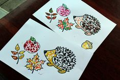 Autumn Crafts, Fall Crafts For Kids, Blog, Cards, Autumn Crafts Kids, Blogging, Maps, Playing Cards