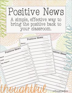 Minds in Bloom presents this inspiring post by Jennifer Martinez on using a positive news board in the classroom. Let us know in the comments if you give it a try! Remember Stella? You know, from t…