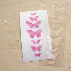 NőiCsizma | Pillangó sor- stencil, maszk Stencils, Scrapbook, Office Supplies, Notebook, Design, Desk Supplies, Templates, Stenciling, Scrapbooking