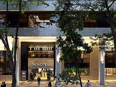 Novotel across street from domestic airport.  Hotel Novotel Rio De Janeiro Santos Dumont .  Unremarkable, for last night in Brazil.  But is it close to PW's appointments?