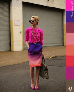 Arco iris de color / Color rainbow  www.modadesnuda.wordpress.com  Foto http://atlantic-pacific.blogspot.com/