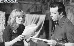 Doris Wells junto a José Bardina en la telenovela La Fiera. Caracas, 13-01-1980 (ARCHIVO EL NACIONAL)