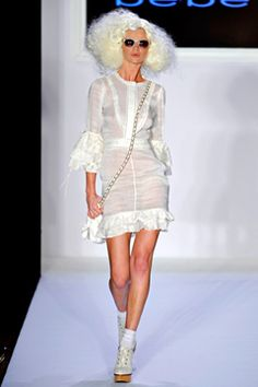 The Spring 2012 RTW collection for Bebe (yep I said it) is truly amazing.  I am a huge fan of white, one of the 4 main colors I fill my closet with, and this line has it covered. Check Style.com Runway Review for all the Spring collections to get your juices flowing and your credit card swiping fingers flexed.  I will say you are welcome in advance.