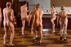 #Fitness trend: #Exercise #NAKED...