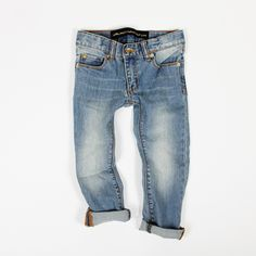 goldfish.be » Vintage Wash Slim Jeans