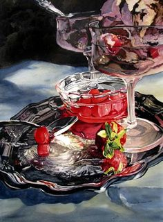 Reflections on a Silver Tray II -- Susan Stuller