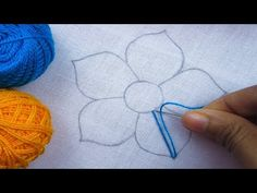 This video about:Hand Embroidery, Fantasy Flower Embroidery, Interlaced Stitch Embroidery, Flower Embroidery Design Welcome to my channel crafts & Embroidery. Hand Embroidery Videos, Hand Embroidery Tutorial, Embroidery Flowers Pattern, Hand Embroidery Stitches, Hand Embroidery Designs, Diy Embroidery, Flower Patterns, Cross Stitch Embroidery, Embroidery For Beginners