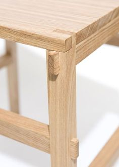 "Simple joinery. ""Japanese designer Yota Kakuda's collection of wooden furniture at DesignTide Tokyo 2010 called 'Tenon'"""