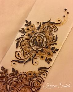 Going with the Gulf vibes this evening. Will share the full design with you all tomorrow! Stylish Mehndi Designs, Mehndi Art Designs, Mehndi Design Pictures, Latest Mehndi Designs, Bridal Mehndi Designs, Mehndi Designs For Hands, Henna Tattoo Designs, Bridal Henna, Henna Tattoos