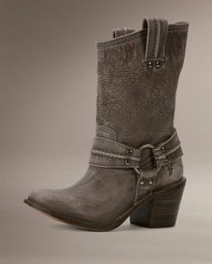 I'm madly in love with my new boots   http://www.thefryecompany.com/products/77376/carmen-harness-short?color=GRY