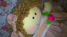 Boneca de Pano decoração quarto de bebê