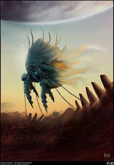 Creature Design by Alex Negrea