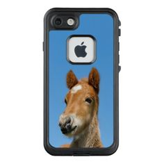 Cute Icelandic Horse Foal Pony Head Front Photo /_ LifeProof FRĒ iPhone 7 Case - baby gifts giftidea diy unique cute