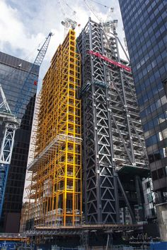 See the development and construction of the iconic Leadenhall Building based in…